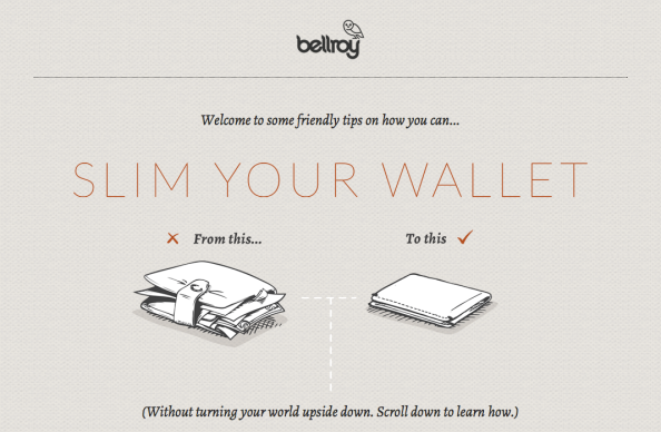Bellroy web